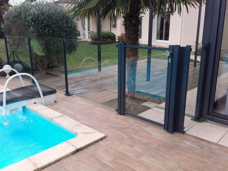 Cl ture piscine thomas - Amenagement piscine exterieur ...