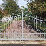 Aménagement Extérieur - Portail & Dessus de Mur en Ferronnerie
